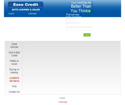 Ezee Credit Auto Leasing & Sales